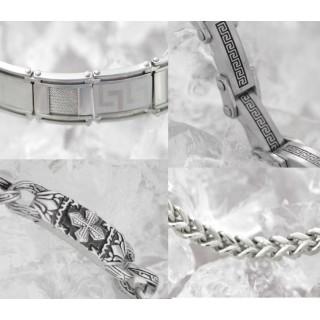 браслеты из ювелирной стали