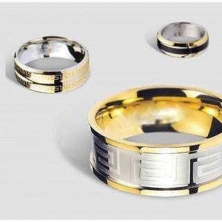 кольца из ювелирной стали и титана