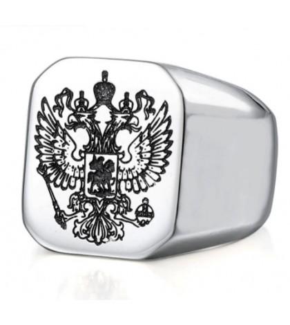 Печатка из ювелирной стали c гербом