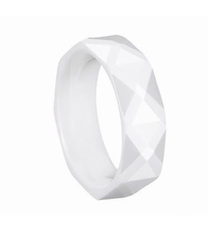 Кольцо из белой Hi-Tech керамики