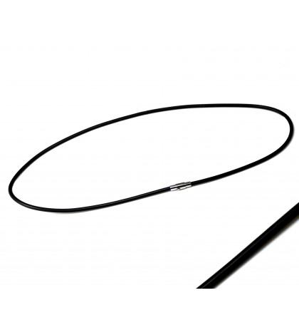 Каучуковый шнурок средней ширины