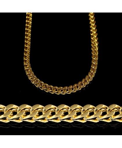 Цепочка из ювелирной стали с плетением персидская ночь